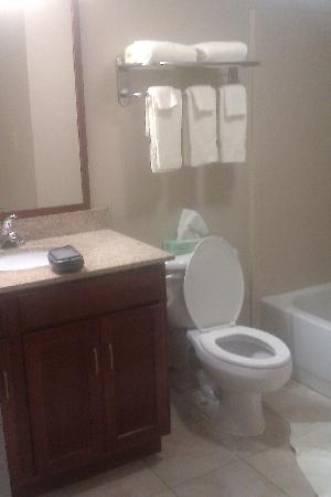 Candlewood Suites Ft. Lauderdale Air/Seaport : The loo, the loo