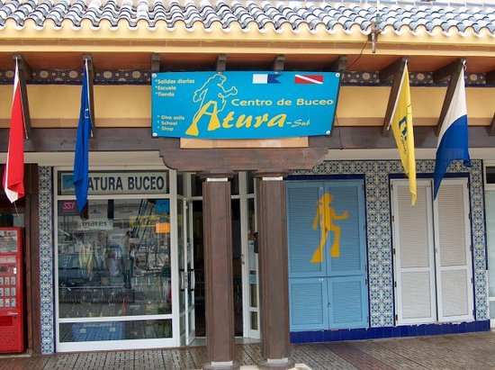 Murcia, Spanje: Atura-sub Diving Center