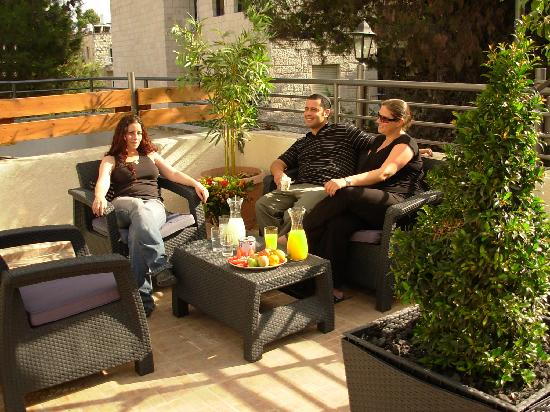 Little House In Rechavia: Our new roof Terrace