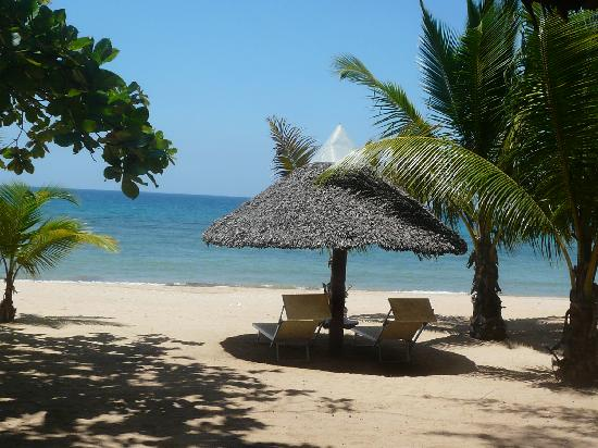 """Eden Lodge : Notre """"plage"""""""