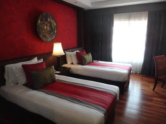 De Naga Hotel: Twin room