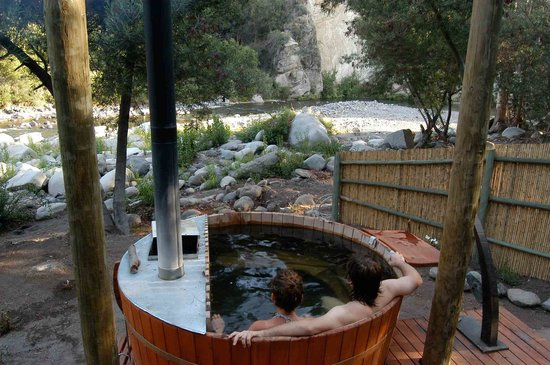 San Fernando, Chile: Hot tub