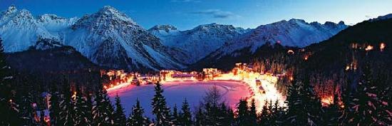 Hotel Obersee: Arosa im Winter