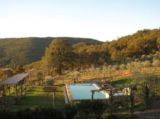 La Grencaia Bed & Breakfast: Beautiful morning view from La Torre