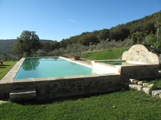 La Grencaia Bed & Breakfast: Charming pool area