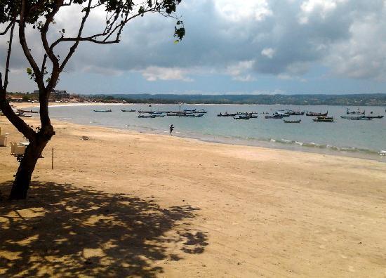 Bawang Merah Beachfront Jimbaran: View to the south