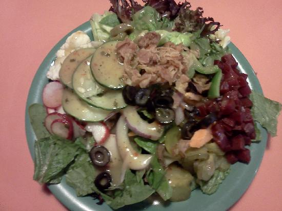 Souper Salad: My dinner last visit