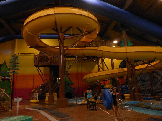 Best Western Dundee: Open tube slide