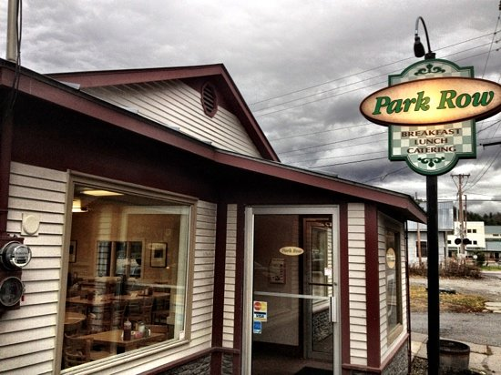 Park Row: excellent breakfast and lunch on Waterbury, VT