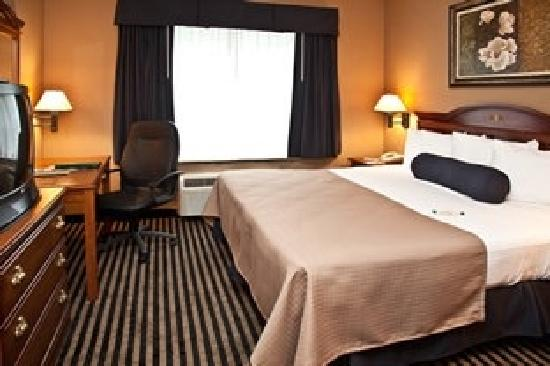 Mountain Inn & Suites: Preferred King Suite bedroom area