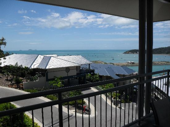 Peppers Airlie Beach: One half of the view
