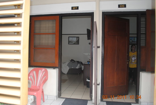 Hotel Jelita Parahyangan: my room number is 127.