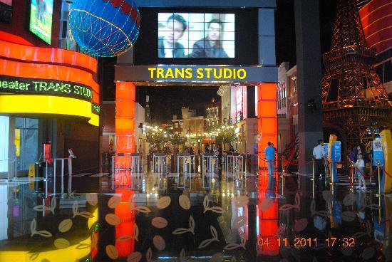 Hotel Jelita Parahyangan: theme park area