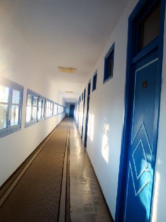 Grand Hotel : le couloir donnant sur les chambres