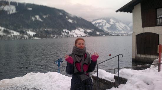 Feinschmeck: Озеро в Zell-am-See