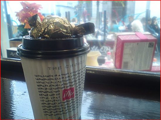 Lily O'Briens - The Chocolate Cafe: Hot choc on a cold day