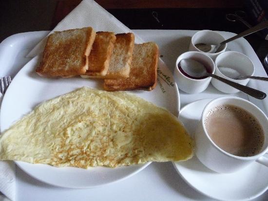 Signature Residence: ежедневный завтрак