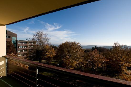 Hausen, Germany: Ausblick vom Balkon - überall Natur
