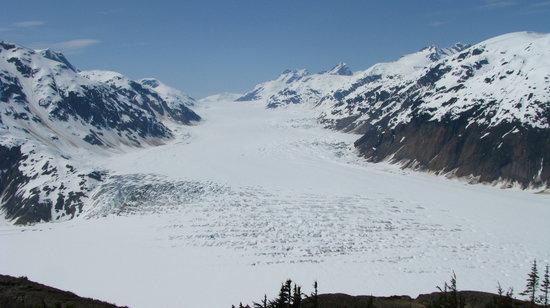 Hyder, Alaska: Toller Ausblick auf den Salmon Glacier