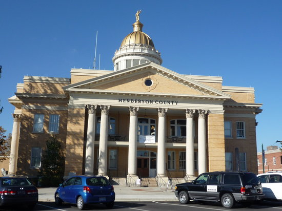 Henderson Heritage Museum: Henderson County Courthouse