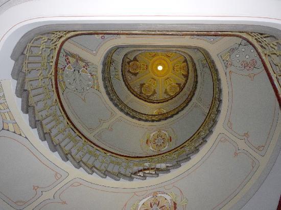 Riga, Latvia: Art nouveau staircase