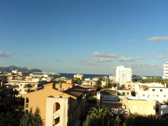 Grupotel Montecarlo: View from our hotel room
