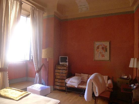 Bed & Breakfast La Romea: Red Room