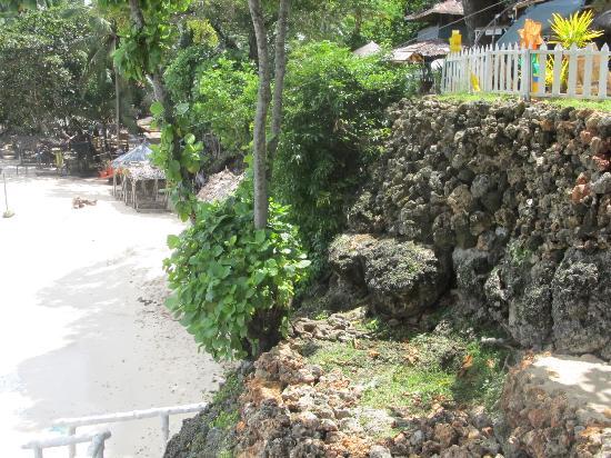 Initao, Filipinas: view of the beach
