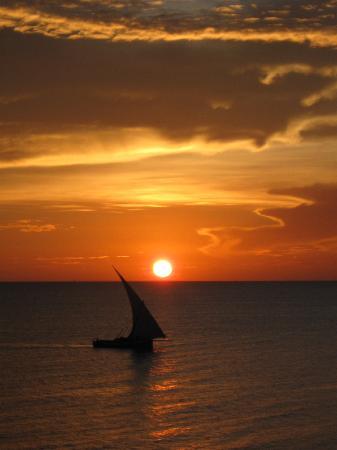 Paje by Night Hotel: tramonto