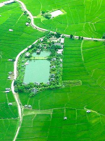 Bueng Pai Farm: Bueng Pai From The Sky