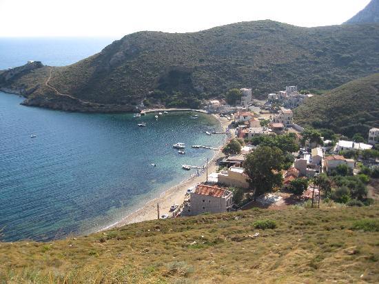 Akroteri Domatia : tiny hamlet of Porto Kayio