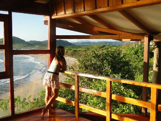 Magnific Rock Popoyo: Vistas desde la recepcion