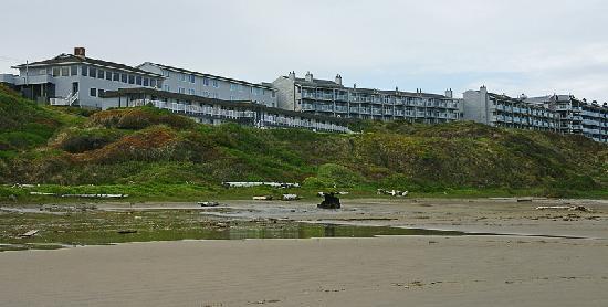 Shilo Inns Newport Oceanfront Inn Linke Gebäude