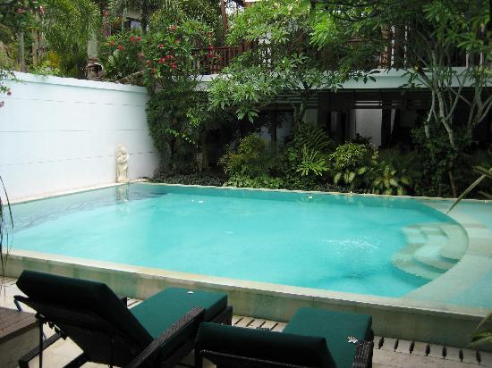فيلا كاسيس باي ناجيسا بالي: la piscine