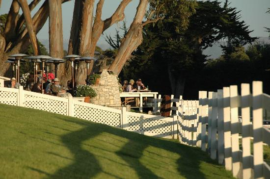 Mission Ranch: dining patio