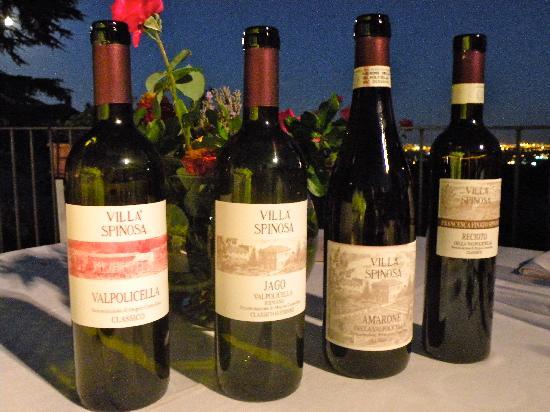 Villa Spinosa: Beautiful wine