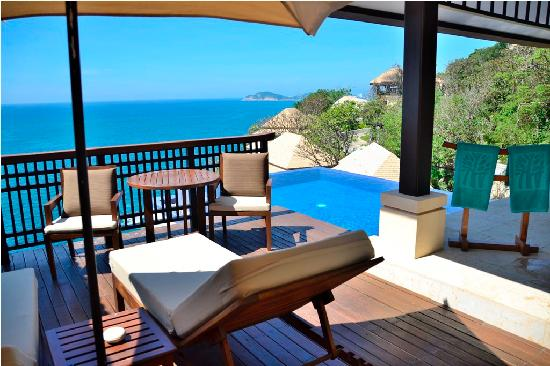 Banyan Tree Cabo Marques Private Pool And Deck