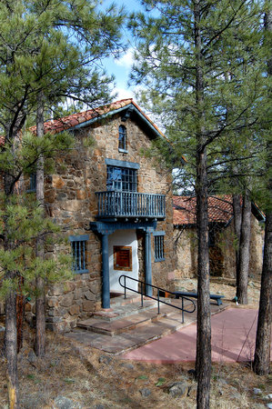 Flagstaff, AZ: Entrance of the Museum of Northern Arizona