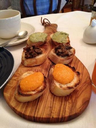 La Toscana di Carlotta: Crostini 3 ways