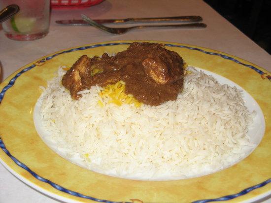 The Village Restaurant : Fesenjon over rice