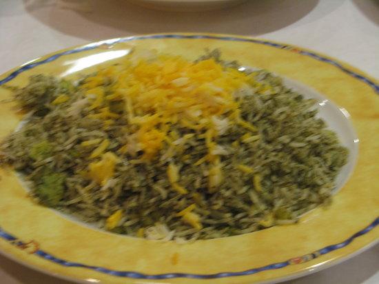 The Village Restaurant : Baghali Polo