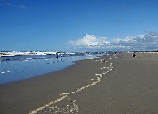 Ocean Front Motel: Strand von Seaside