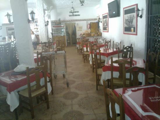 Rincon Andaluz Restaurante: Salon interior durante un almuerzo privado