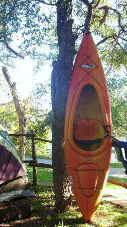 Tres Rios Park : my campsite