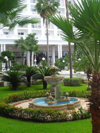 Hotel Riu Palace Las Americas: beautiful gardens