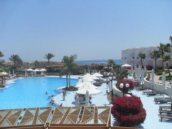 Aurora Sharm Resort: view from the bar terrace