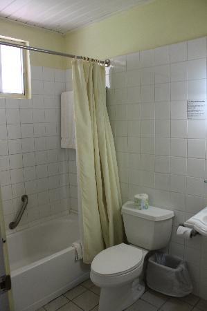 Siesta Hotel: The bathroom