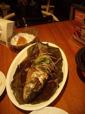 Jingzun Peking Duck Restaurant: Great Steamed Fish too