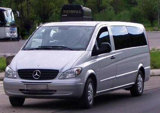 Americo Car Service: Our first minivan Mercedes Vito 120 extra long