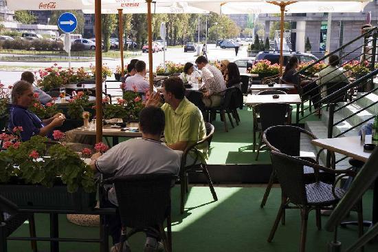 Palacinkarnica Dizni: garden